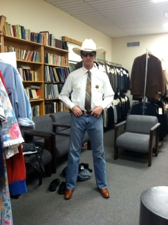 Nathaniel Rothrock as Sheriff